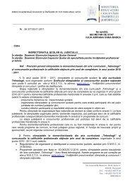 DIRECȚIA GENERALĂ EDUCAȚIE ȘI ÎNVĂȚARE PE TOT ...