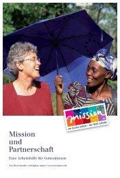 Mission und Partnerschaft - mission.de