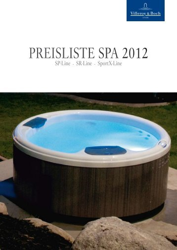 Preisliste sPA 2012 - Aqua-Saar