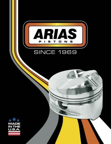View our Catalog - Arias Pistons