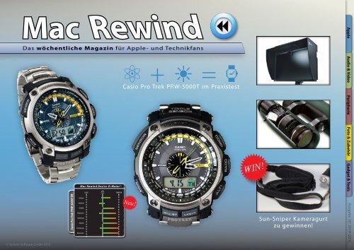 Mac Rewind - Issue 18/2010 (221) - MacTechNews.de - Mac Rewind