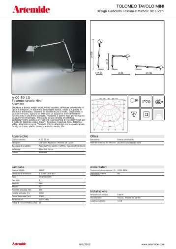 TOLOMEO TAVOLO MINI - Gonellaluce.it
