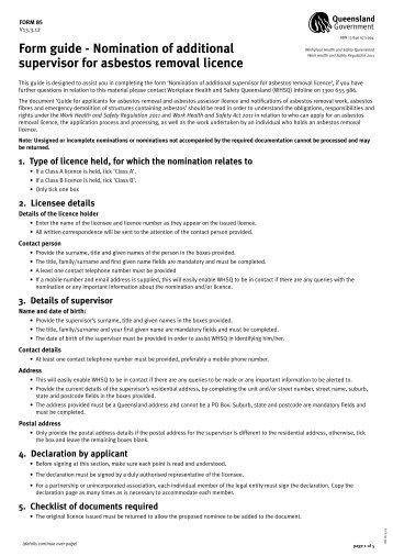 Asbestos Removal Qld Gov