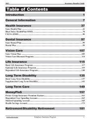 2012 Insurance Benefits Guide - South Carolina Public Employee ...