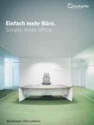 Katalog Download - Neudörfler Möbelfabrik GmbH