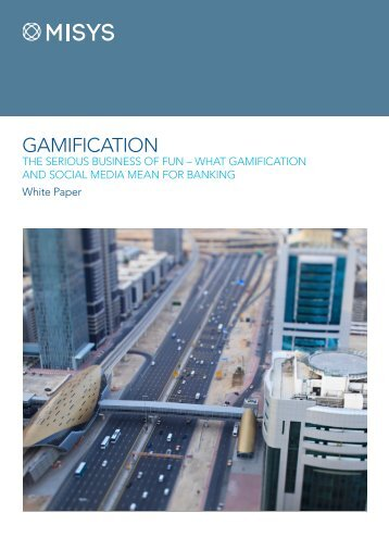 Gamification Whitepaper - Misys