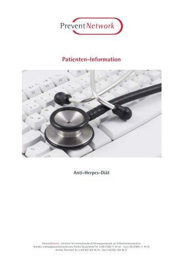Anti-Herpes-Diät - PreventNetwork