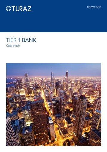 Tier 1 Bank Case Study - Misys