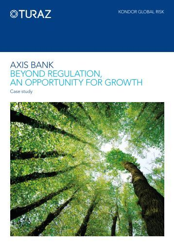 aXis banK bEYond rEGUlaTion, an oPPorTUniTY For GroWTH - Misys