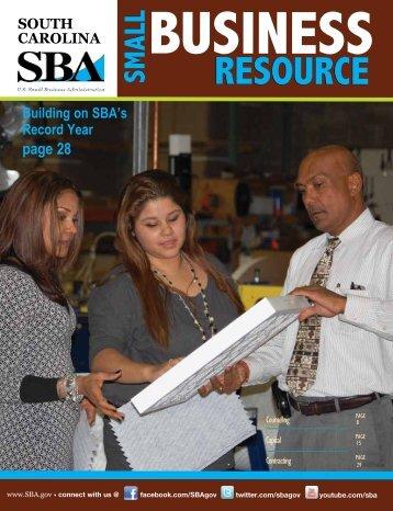 South Carolina - Small Business Resource Guide - SBA.gov