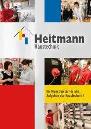 aus einer Hand! - Heitmann Haustechnik GmbH
