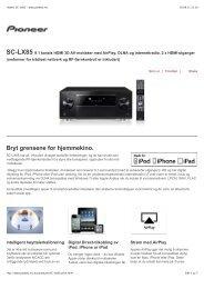 Pioneer SC-LX85 - www.pioneer.no - Stereofil