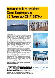Antarktis Kreuzfahrt Zum Superpreis 16 Tage ab CHF 5970.