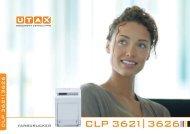 CLP 3621 3626 - Utax