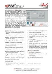 Prospekt: Elpay Office - mIT solutions GmbH