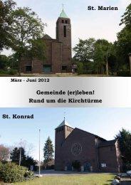 Gemeinde (er) leben! 01.2012 - St. Martinus Moers
