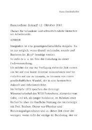 Hans Diedenhofen, Bundesarbeitsgemeinschaft der ... - BAR