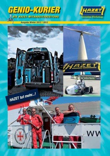 Ausgabe Winter 2012 - Hazet