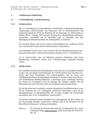 Neubau der Welmer Brücke - Baubeschreibung ... - brueckenweb.de