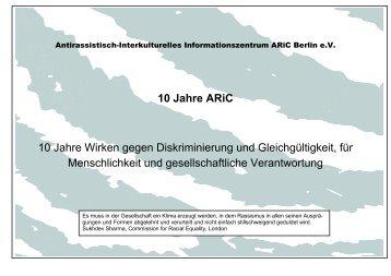 pdf-file - Antirassistisch-Interkulturelles Informationszentrum Berlin e.V.