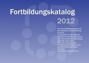 Katalog Heinsberg 2012-13 - Lehrerfortbildung NRW