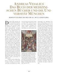 ANDREAS VESALIUS DAS BUCH DER MEDIZINI ... - Medizin + Kunst