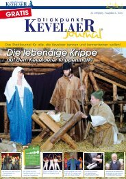 Die lebendige Krippe - Blickpunkt Kevelaer (Journal)