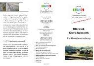 Flyer Funktionsbeschreibung Klärwerk (2.509765625 MB ) - in Kleve