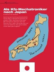 Als Kfz-Mechatroniker nach Japan - handfest-online.de