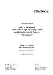CARD STAR /fresh-up und CARD STAR /fu