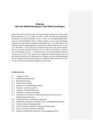 Abfallentsorgungssatzung Leichlingen - Bergischer ...