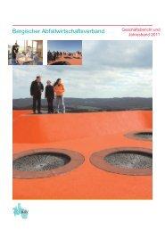 Jahresband 2011 - Bergischer Abfallwirtschaftsverband