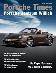 Ausgabe Juli/August 2007 - Porsche Zentrum Willich