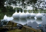 Irmin Kamp - Plastiken am Silbersee - Katalog 2008 - das SEEWERK
