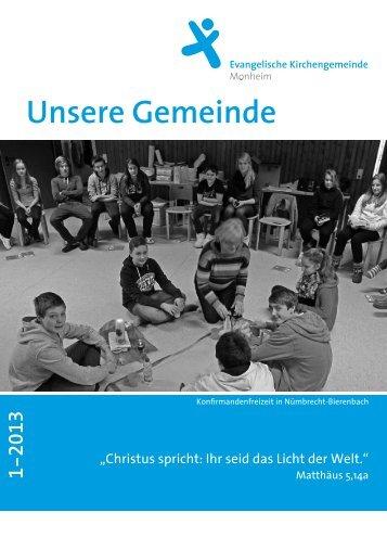 Ausgabe 1/2013 - ekmonheim