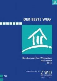 Beratungsstellen-Wegweiser 2012 - Jobcenter Düsseldorf