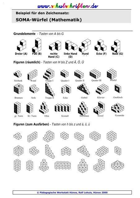 soma w rfel mathematik. Black Bedroom Furniture Sets. Home Design Ideas