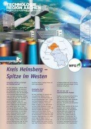 Kreis Heinsberg – Spitze im Westen - technologiezentrum-aachen.de