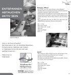 kursprogram m 2. halbjahr 20 12 - Der Club Heiligenhaus - Seite 7