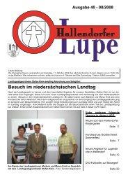 LUPE40-Online - SPD-Hallendorf