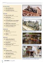 INHALT - Spur G Magazin
