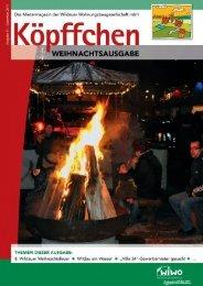 Ausgabe 4 / 2011 - WiWO Wildauer Wohnungsbaugesellschaft