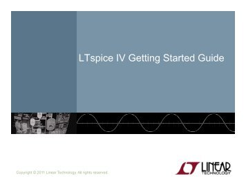 LTspice IV Getting Started Guide
