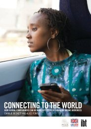 CONNECTING TO THE WORLD