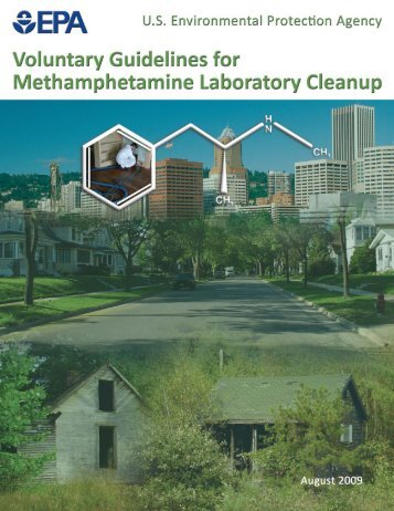 Voluntary Guidelines for Methamphetamine Laboratory Cleanup (PDF)