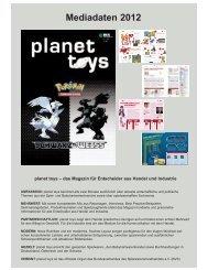 Mediadaten planet toys 2012:briefpapier-mf verlag.qxd.qxd