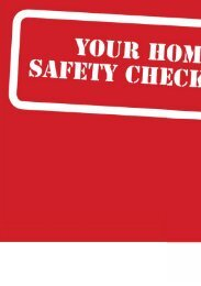 Home Safety Checklist - Queensland Health