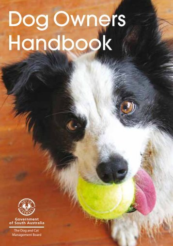 01 - Dog Owners Handbook - Good Dog SA
