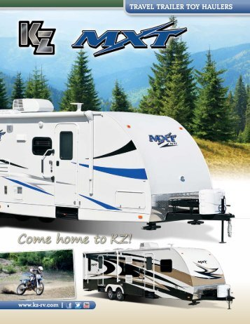 Travel Trailer TOY HaUlerS - KZ Recreational Vehicles