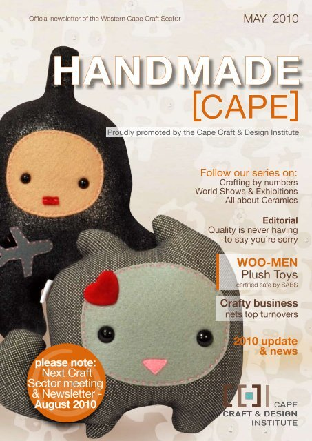 May 2010 Ccdi Newsletter Cape Craft And Design Institute